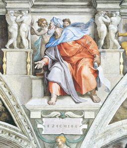 Ezekiel by Michelangelo - from Wikimedia Commons