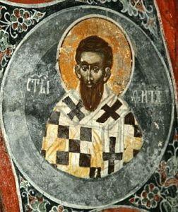 Святой Апостол Тит Критский Косово, XIV век. Печь Патриаршия. Церковь св. Николая Public Domain