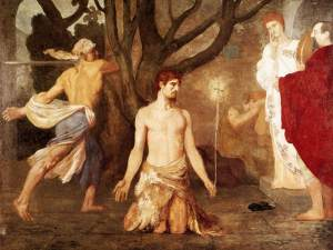 Puvis de Chavannes, The Beheading of St John the Baptist, c. 1869